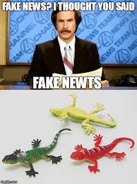 Fake newts