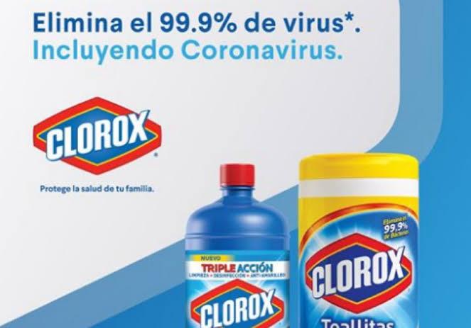 Y tu, ¿Usas clorox?