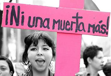 Justicia colombiana frente al feminicidio