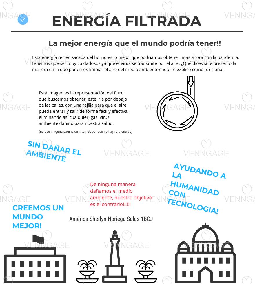 energía filtrada