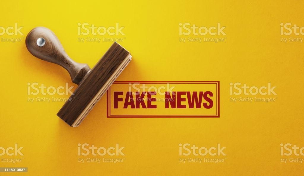Ejemplo de noticias falsas