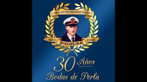 Alfg. Victor Naranjo Fiallos en su 30 aniversario