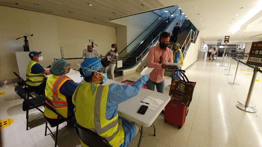 386 COVID- positivos encontrados en el aeropuerto de Tocumen