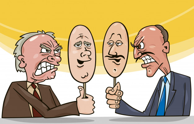 Caricatura de política