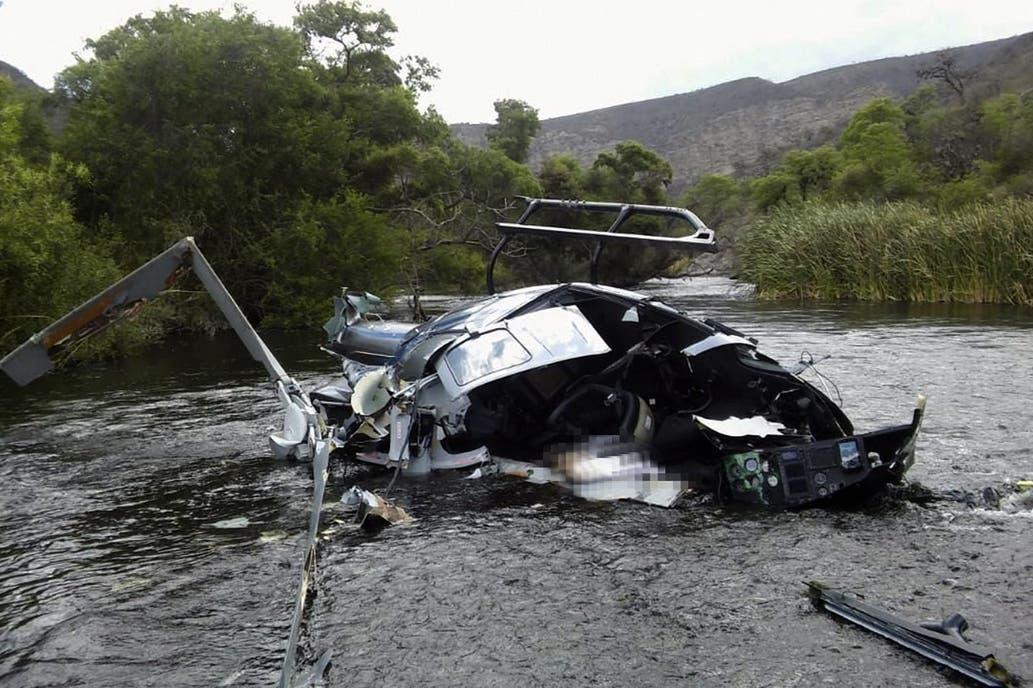 La muerte de Jorge Brito: el informe oficial confirma que el helicóptero impactó