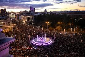España, referente mundial de la protesta del 8M