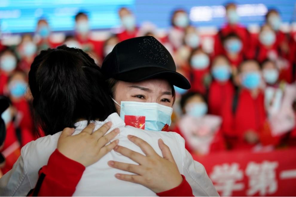 El mundo entero celebra el fin de la cuarentena en Wuhan