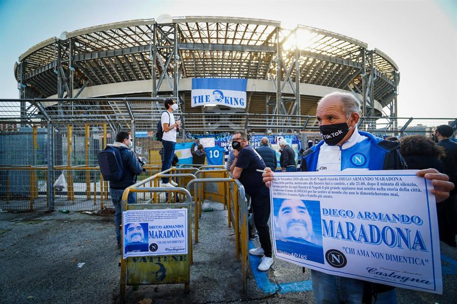 """San Paolo pasará a llamarse: """"Estadio Diego Armando Maradona"""""""