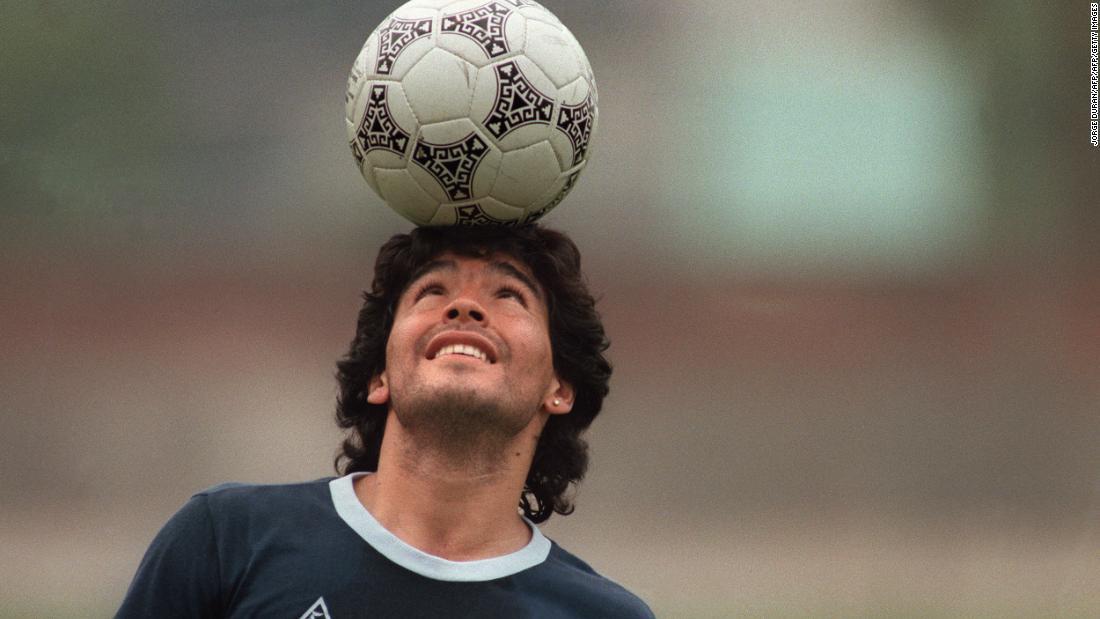 Maradona falleció