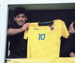 El Pibe Valderrama y su adiós a Diego Maradona