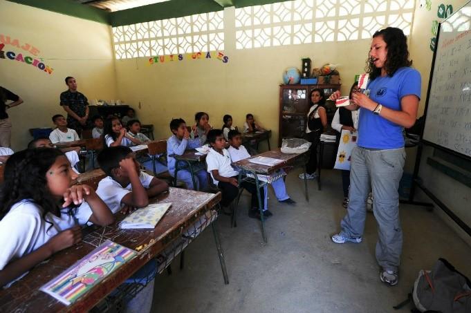 Educación en Colombia: la vivencia en las aulas.
