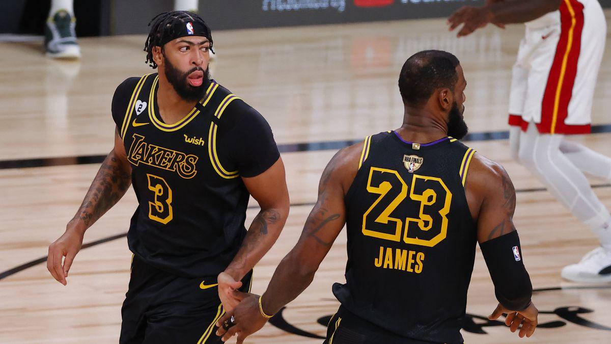 Los Lakers blindan a Anthony Davis y aseguran el futuro