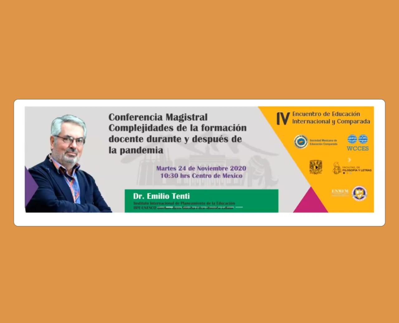 Conferencias sobre la educación actual