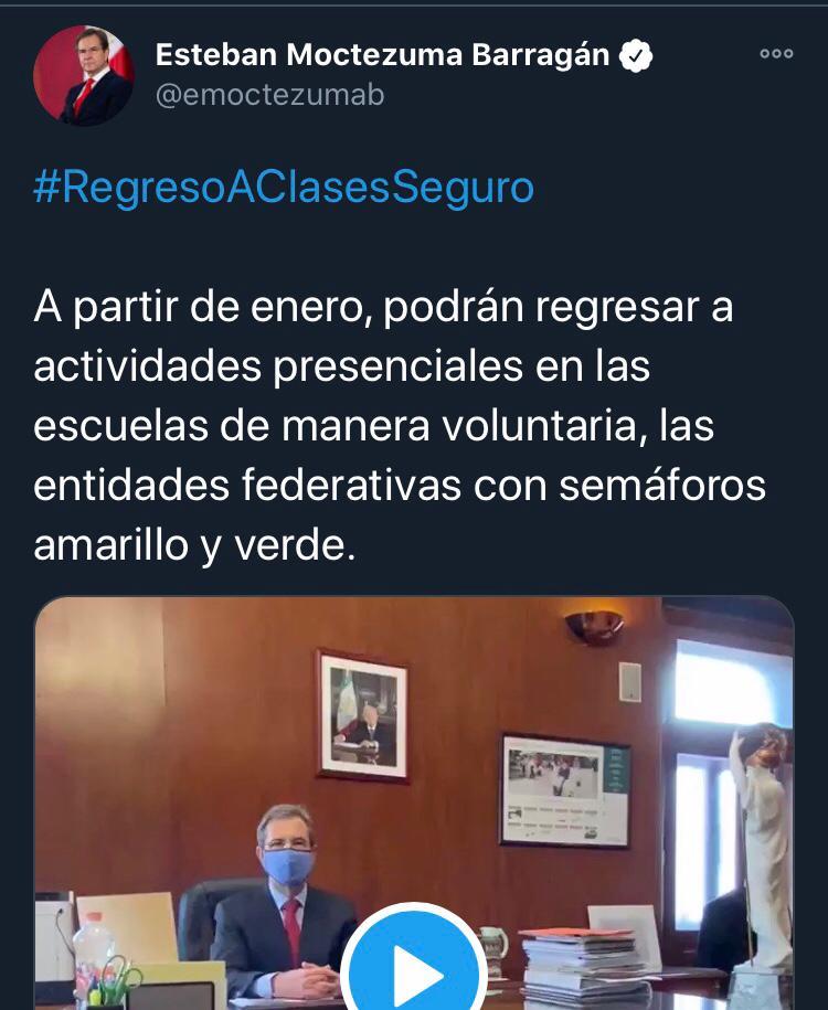 Próximo regreso a clases en estos Estados de la República Mexicana