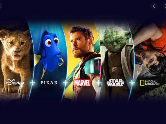 Disney Plus llegó a Latinoamérica