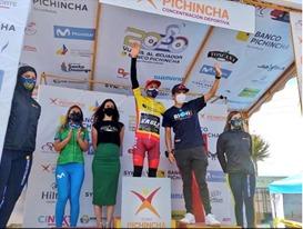 Burbano y Velasco brillan en la cuarta etapa de la Vuelta