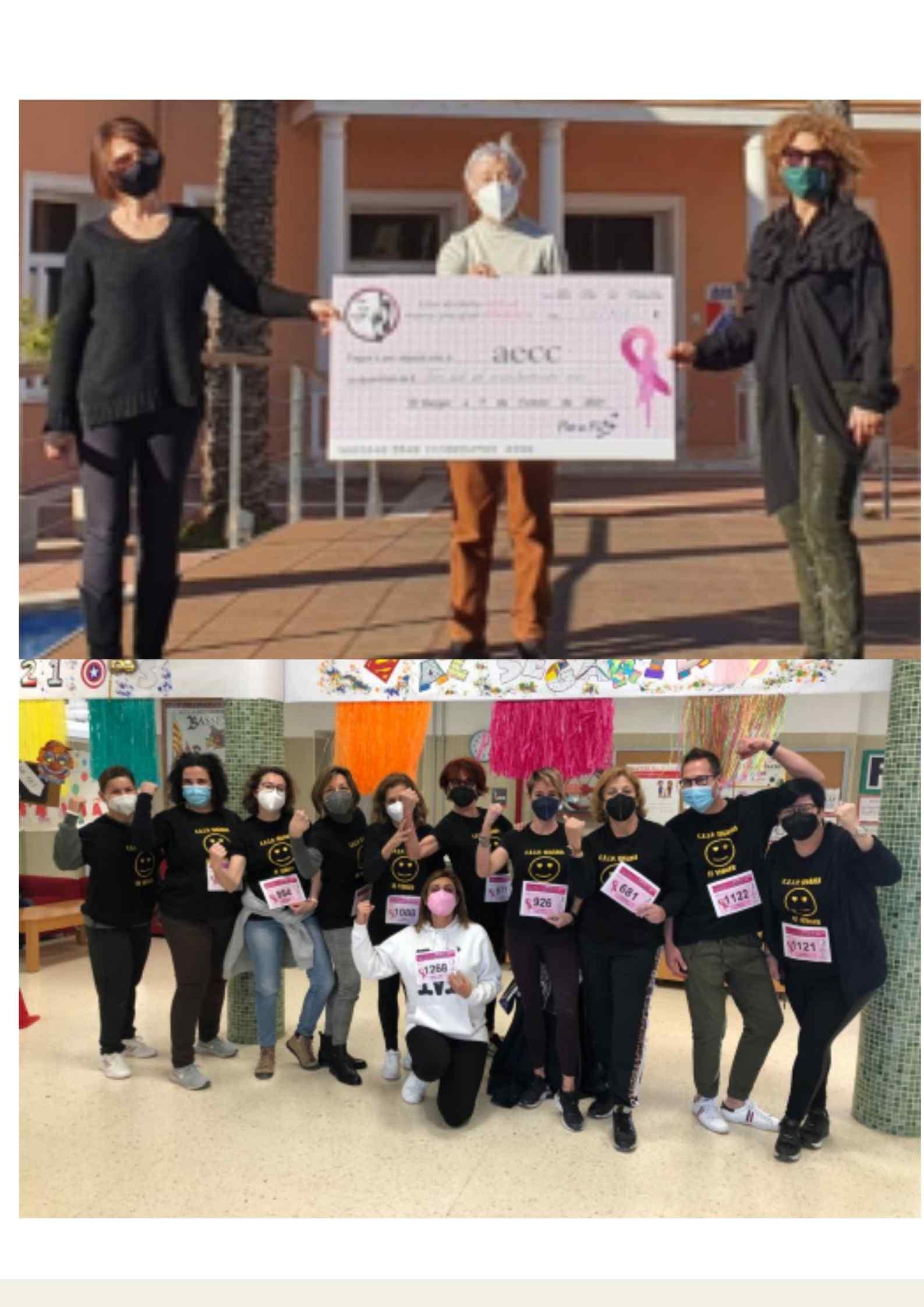 Cursa virtual/benèfica contra el càncer al Verger