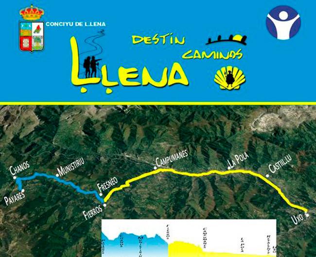 Lena programa dos nuevas rutas comentadas por el Camino del Salvador