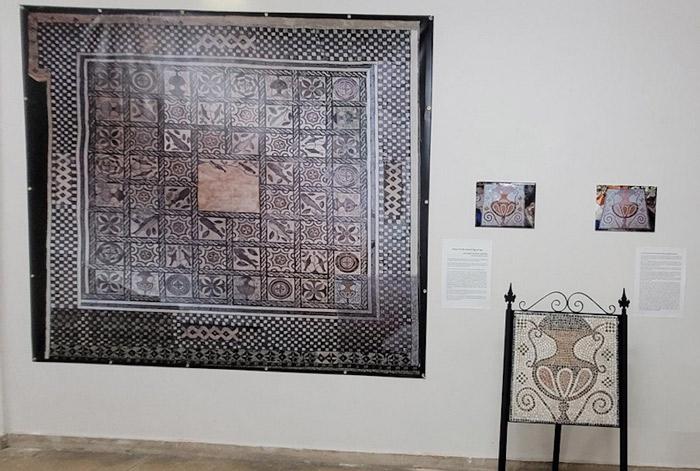 """La Pola """"recrea"""" el mosaico romano de Mamorana en el centenario de su descubrimiento"""