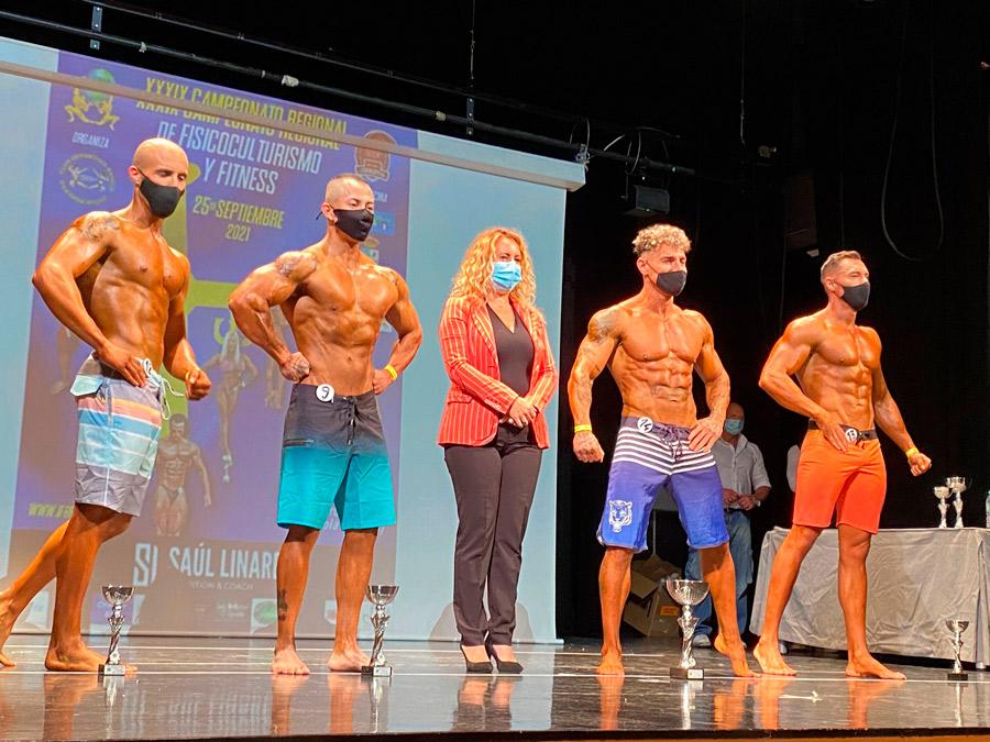 El Autonómico de Fisioculturismo y Fitness, un espectáculo deportivo en La Pola