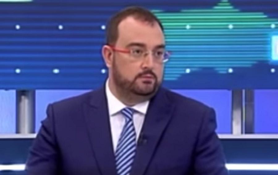 """Adrián Barbón: """"En Lena no va a haber estación del AVE"""""""