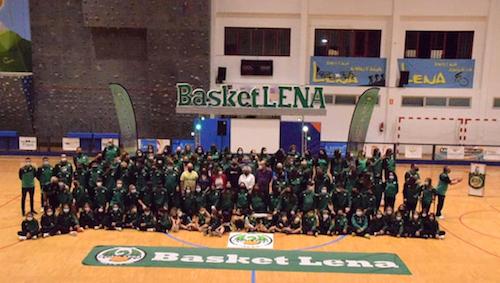 "El ""Basket Lena"" echa a andar la temporada 2021-2022"