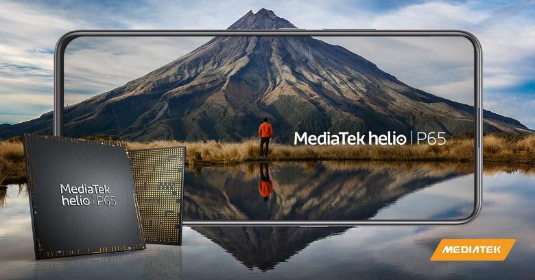MediaTek lanza el potente chip Helio P65 para teléfonos inteligentes
