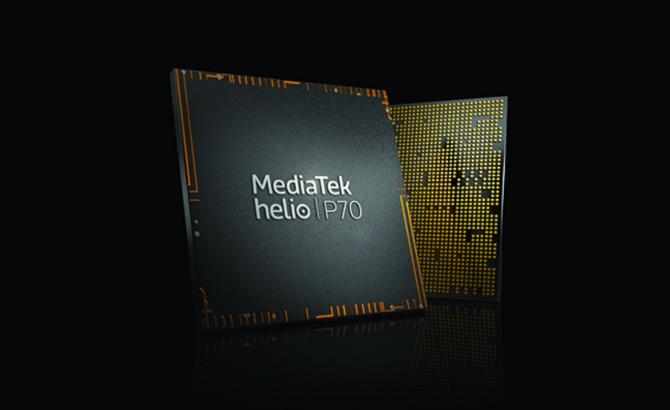 Helio P70 de MediaTek ofrece AI avanzada y mejoras premium en móviles de gama media