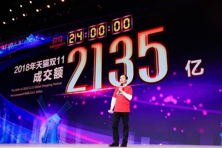 Alibaba hace historia pero crece menos que el año pasado en el Día del Soltero
