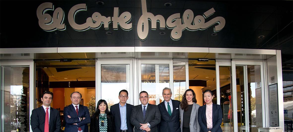 El Corte Inglés y Alibaba firman un acuerdo para desarrollar una colaboración global