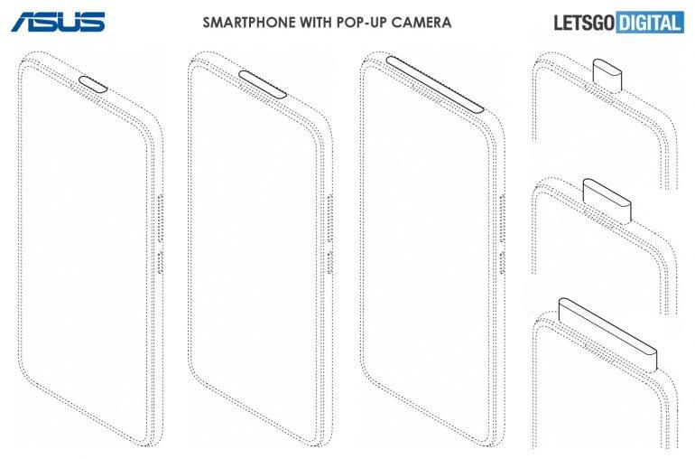 Asus patenta nuevos diseños de cámaras para smartphones