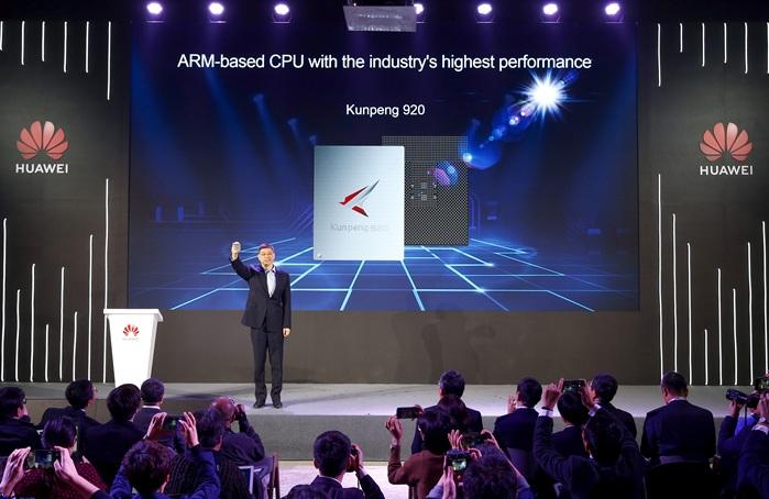 Huawei presenta la CPU Kunpeng 920 basada en ARM