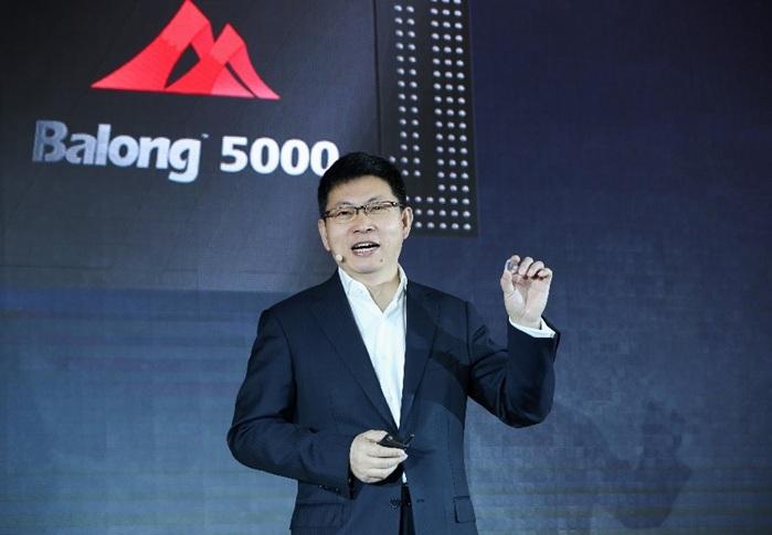 Huawei presenta el primer chip core de estación base 5G del mundo para 5G simplificado