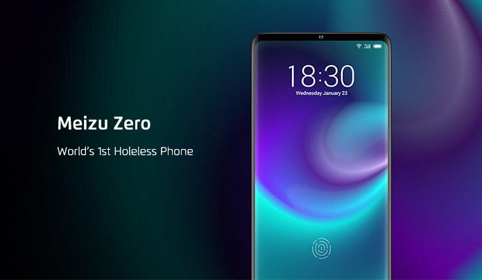 Así es el nuevo Meizu Zero que prescinde de botones y conexiones físicas