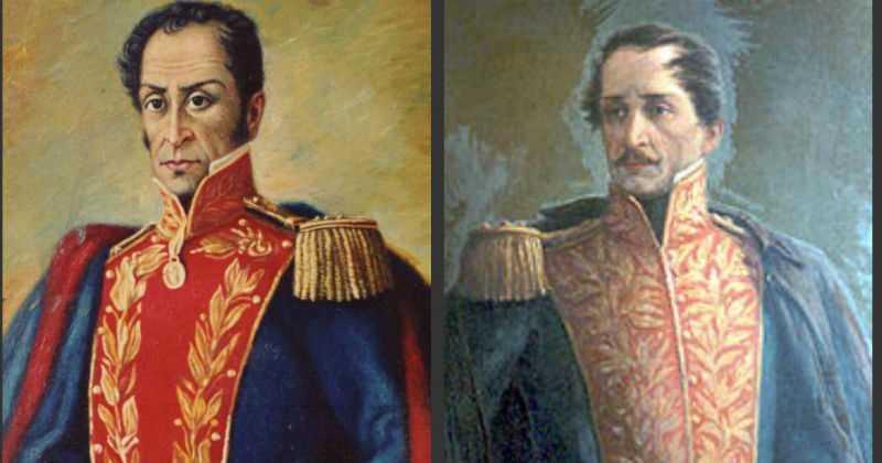¿Por qué se pelearon Simón Bolívar y Francisco de Paula Santander?
