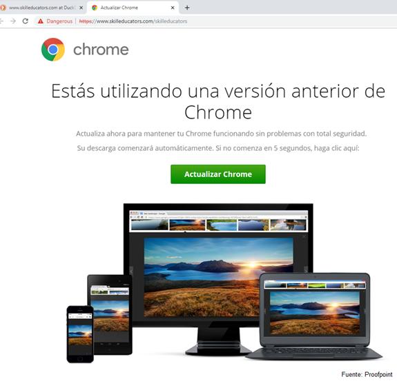 Proofpoint detecta una campaña de ataques mediante la técnica de 'falsa descarga' dirigida a usuarios en España