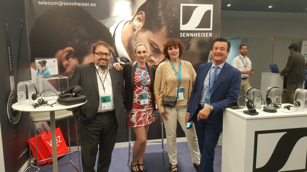 Sennheiser se sumó a la transformación en Expocontact 2019