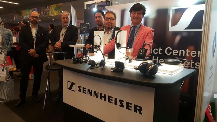 Sennheiser, expositor en la feria Expo/Relación Cliente 2019