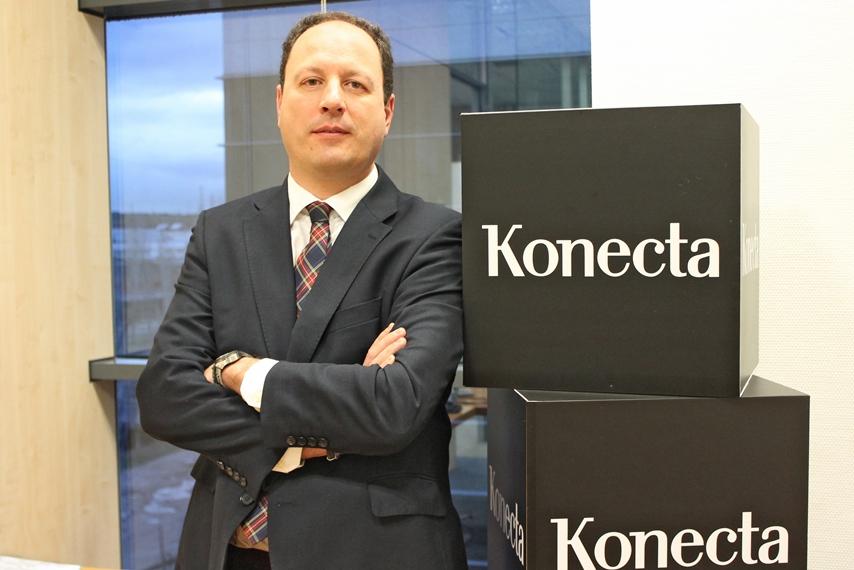Juan Ignacio Sánchez Hierro es el nuevo Director Comercial de Konecta en España