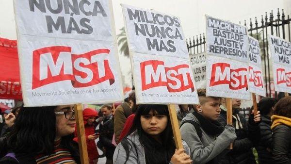 """QUIEREN CONSTRUIR UN ENEMIGO INTERNO"": RECHAZAN MILITARIZACIÓN DE ARGENTINA"