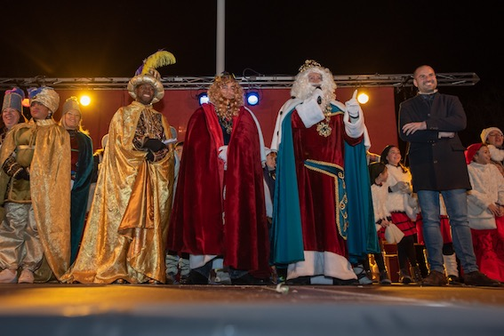 Majadahonda entrega las llaves de la ciudad a los Reyes Magos