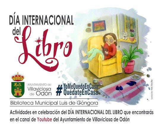 Villaviciosa celebra el Día del Libro en el canal Youtube municipal