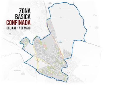 Confinada la zona básica de salud de Las Rozas