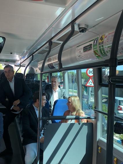 Crece un 11% el número de usuarios del transporte público en Las Rozas