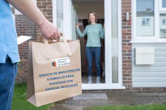 Una App controlará la entrega de alimentos preparados a personas con especial necesidad en Pozuelo