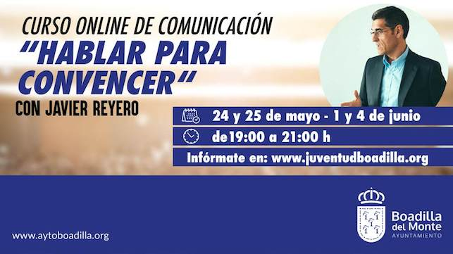 Curso de comunicación del periodista Javier Reyero en Boadilla