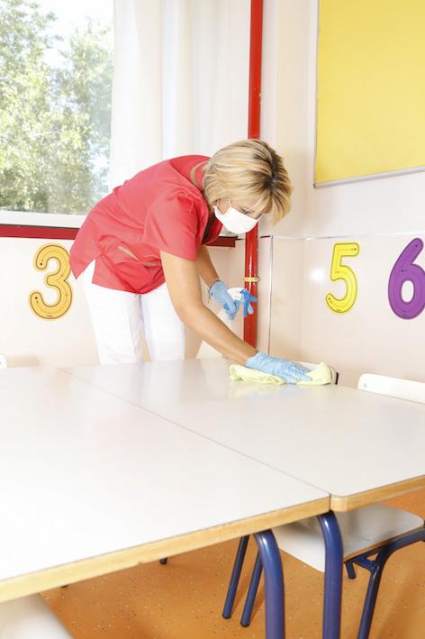 Personal de limpieza extra para todos los colegios de Pozuelo de Alarcón