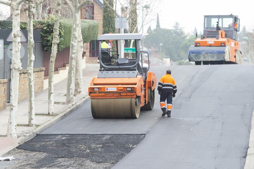 Pozuelo  invertirá 2,5 millones de euros en el nuevo plan de asfaltado