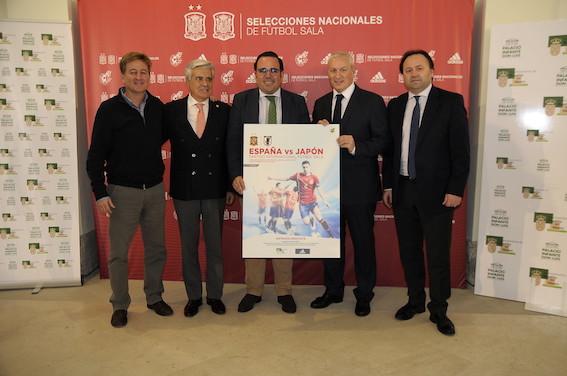 El amistoso de fútbol sala España - Japón se juega en Boadilla del Monte