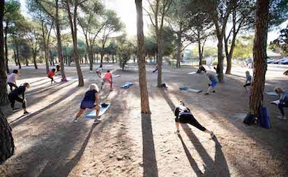 Las Rozas amplía las actividades deportivas al aire libre